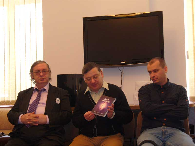 Prezentarea antologiei - Liviu Radu, Horia Gârbea, Angelo Mitchievici