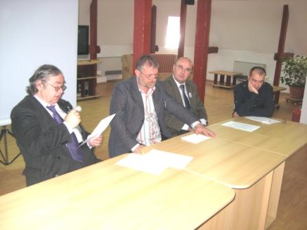 Liviu Radu, Marian Truţă, Cristian Tamaş, Angelo Mitchievici