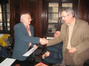 Mircea Oprita premiat pentru intreaga activitate.