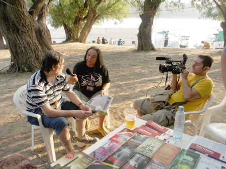 Interviu pentru TVRM