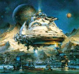 John Berkey - Star Ship