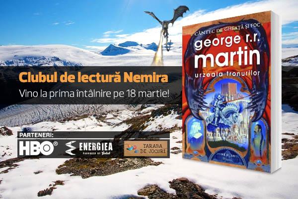 Clubul de lectura Nemira_luni 18 martie 2013